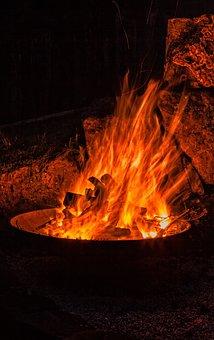 Fire, Flame, Heat, Hot, Burn, Brand, Embers, Glow