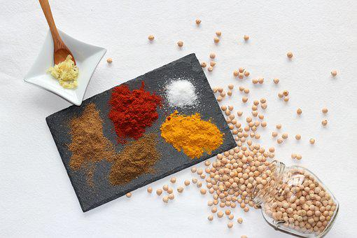 Spices, Still Life, Gastronomy, Color, Food, Healthy