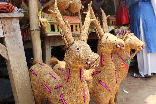 Konark, Puri, Orissa, Temple, Travel, Wheel, Monument