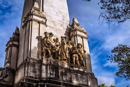 Cervantes, Memorial, Madrid, Spain, Statue, Famous