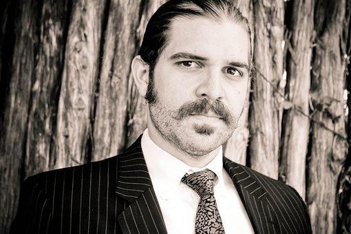 Model, Mustache, Fashion, Man, Young, Portrait, Guy