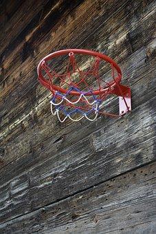 Basketball, Net, Sport, Activity, Recreation, Equipment