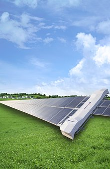 Cleaning Robot, Sky, Photovoltaic, New Energy