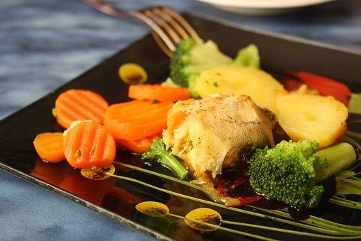 Food, Orange, Krupnyj Plan, Vitamins, Vegetables, Plate