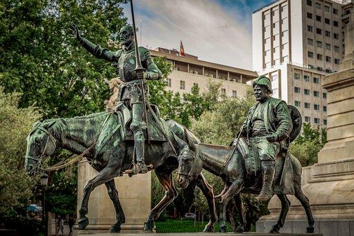 Cervantes, Don Quijote, Sancho Panza, Quijote, Don