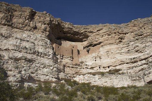 Montezuma Castle, Indian, Ruins, Cliff, Arizona