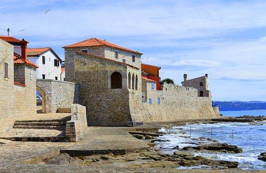 View, Sea, Architecture, City, The Coast
