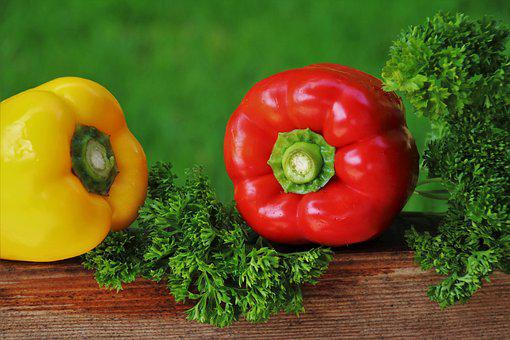 Paprika, Tasty, Vitamins, The Freshness, Sweet Peppers