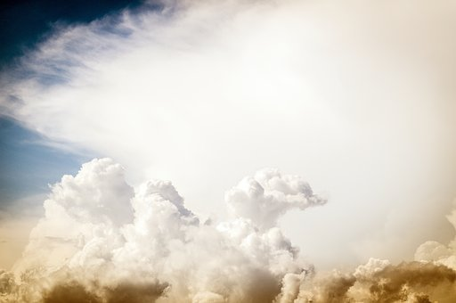 Clouds, Sky, Colors, Red, Blue, White, The Clouds