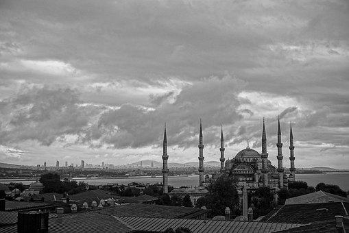 Istanbul, Blue Mosque, Sultan Ahmet, Turkey, Mosque