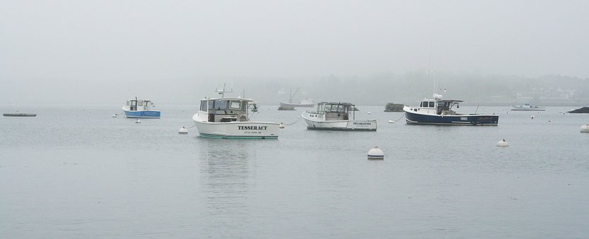 Boothbay, Maine, Usa, Vacation, Boat, Fishing, Harbor