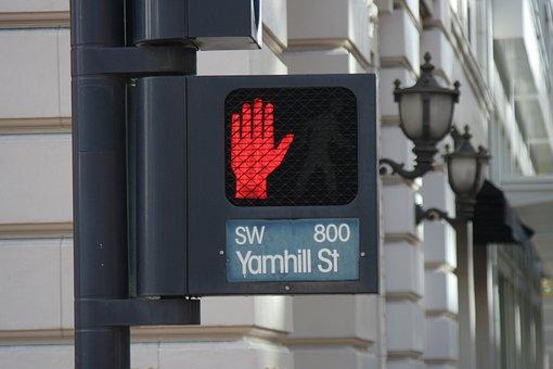 Stop, Signal, Warning, Traffic, Street, Light, Highway