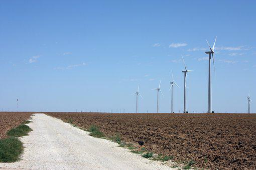 Wind Turbine, Wind Power, Alternative Energy, Texas