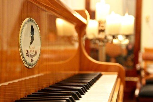 Piano, Wing, Music, Keys, Piano Keys, Instrument