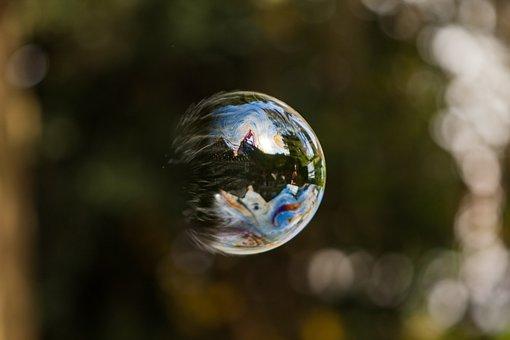 Bubble, Outside, Soap, Children's Games, Artist