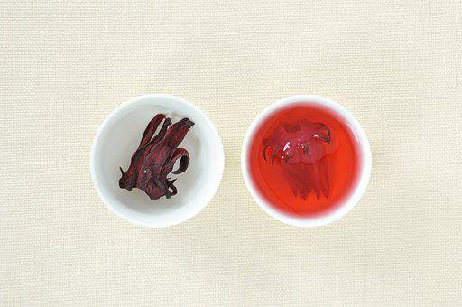Chinese Medicine, Tea, Drinks, Roselle, Red