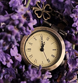 Lavender, Clock, Lucky Clover, The Eleventh Hour