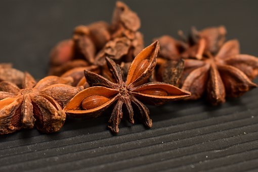 Star Anise, Condiments, Star, Aromatic, Spices