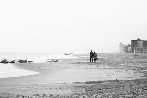 Nyc, Couple Goals, Beach, Blackandwhite, Bw, Love