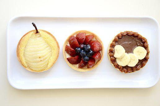Dessert, Tarte, Sweet, Pie, Cream, Delicious, Gourmet