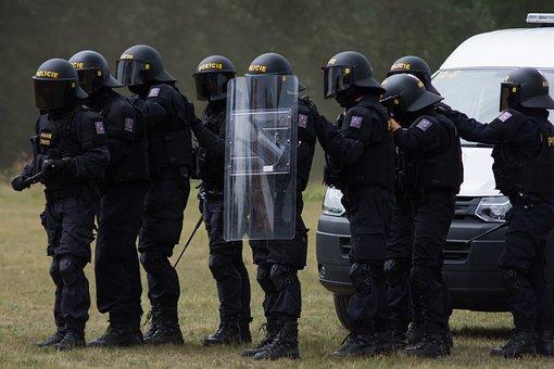 Police, Urn, Esu, The Riot Squad