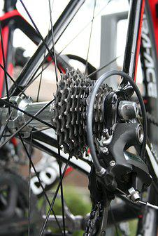 Cycling, Race Bike, Gear, Rear, Bicycle, Bicycle Wheel