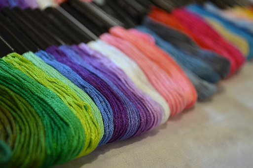 Thread, Color, Needlework, Hobby, Handmade, Passion