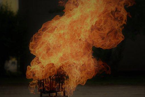 Flame, Fire, Fire Basket, Brand, Heat, Hot, Burn