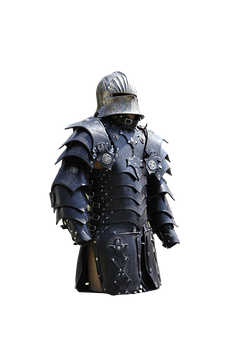 Samurai, Armor, Helm, Middle Ages, Isolated