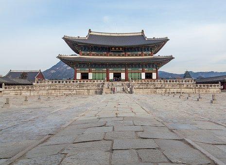 Palace, Asia, Korea, History, Ancient, Heritage