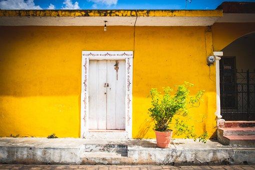 Izamal, Mexico, Yucatan, Yellow, Colonial, City, Travel