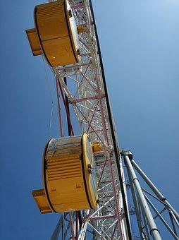 The Ferris Wheel, Japan, Amusement Park, Travel