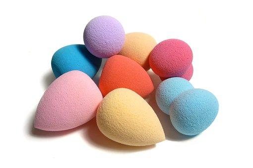 Make-up, Sponges, Facial, Colorful, Sponge, Blender