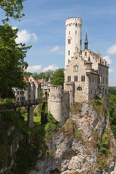 Lichtenstein Castle, Castle, Middle Ages, Tower