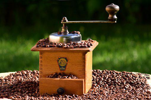 Coffee, Coffee Grinder, Mill, Grind, Coffee Beans