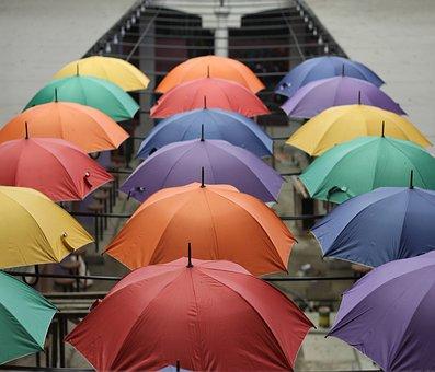 Parasol, Philippines, Umbrella, Rain, Travel, Vacation