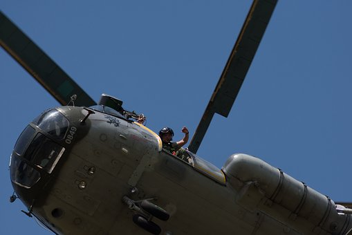 Helicopter, Army, Propeller, Heaven, Sky, Czech Army