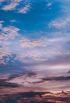 Sky, Skies, Clouds, Beautiful, Sunset, Sunrise, Pune