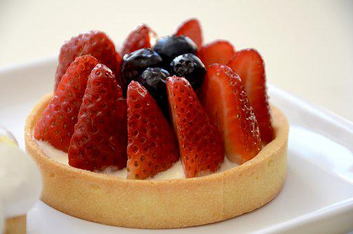Strawberry, Dessert, Food, Fruit, Sweet, Delicious