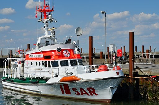Rescue Ship, Sea Rescue, Sylt, List, Lifeboat