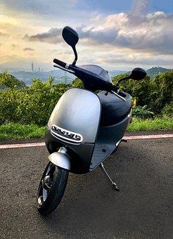 Taipei, Taiwan, Electric Car, Locomotive, Motorcycle