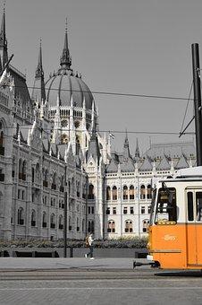 Architecture, Tourism, Budapest, Monument, Tram