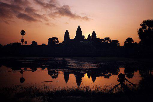 Cambodia, Angkor Wat, Temple, Ancient, Travel