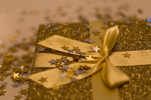 Glitter, Box, Background, Treasure