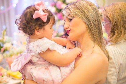 Love, Aunt, Child, Family, Garden, Delicacy, Happy