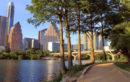 Austin, Texas, Lady Bird Lake, Austin Skyline