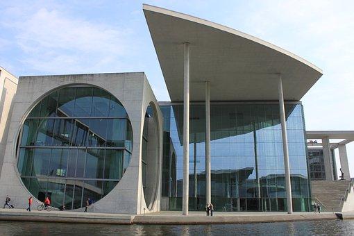 Berlin, Modern Architecture, Building, Facade