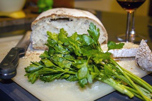 Parsley, Bread, Italian Cuisine, Kitchen, Food, Foods