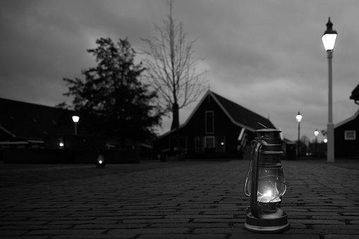 Light, Lantern, Black, Dark, Lamp, Night, Candle