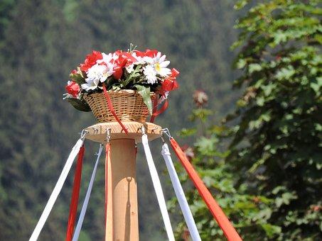 Gauder Festival, Zillertal, Flag, Bands Dance, Tyrol